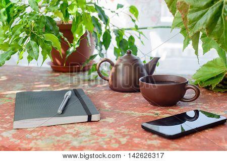 Tea Party Between Work