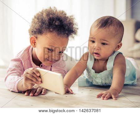 Afro American Children