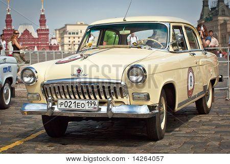 Gaz Volga (vintage Car Ussr)