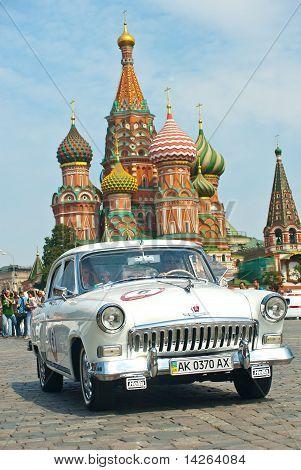 Gaz Volga (vintage Car Ussr) Started