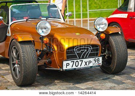 Bronze Caterham Seven Sport Cars