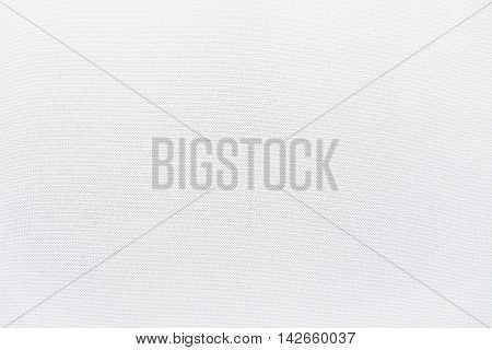 white tightly woven fabric texture material background