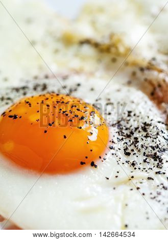 Fried Egg With Black Pepper