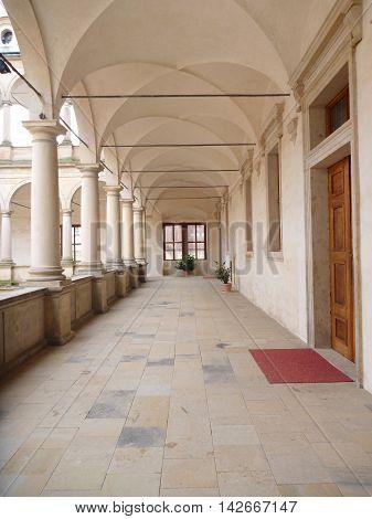 Arcades On A Litomysl Chateau