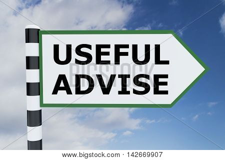 Useful Advise Concept