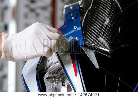 Motorcycles detailing series : Coating motorcycle paint