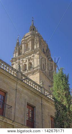 Salamanca, Spain - August 16: Spanish city of Salamanca