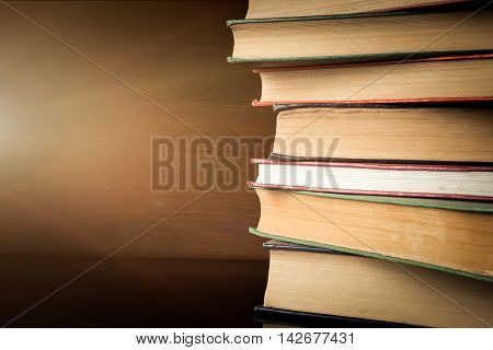 Book of  stack high quality studio shot