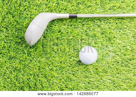 Sport Object Related To Golf Equipment