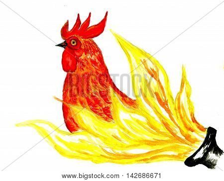 Fancy Rooster Art