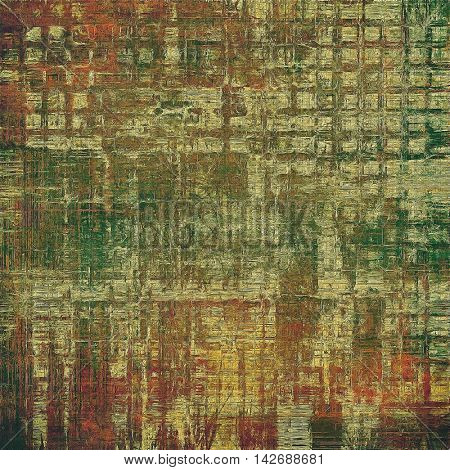 Cute colorful grunge texture or tinted vintage background with different color patterns: yellow (beige); brown; gray; green; red (orange); pink