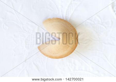 Photo Of An Isolated Fortune Cookie
