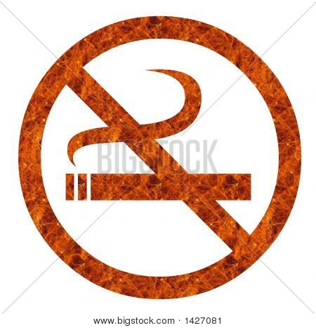 Anti Smoking Sign
