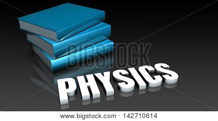 Physics Class for School Education as Concept 3d Illustration Render