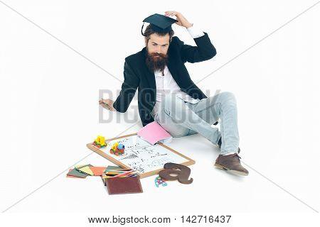Bearded Teacher Man
