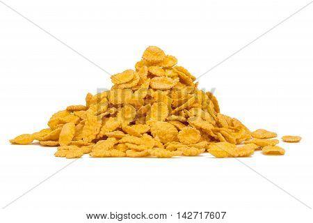 Corn Flakes Isolated
