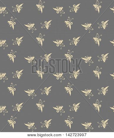 Seamless ornament. Modern geometric pattern with repeating elements