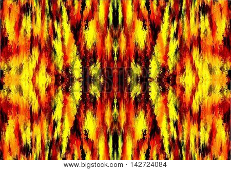 pattern background forest fire in new form