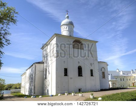 Church of the Presentation to the refectory. St. Anthony Monastery. Veliky Novgorod, Russia