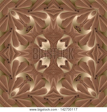 The image is computer graphics created using various programs. It can be used in the design of your site design textile printing industry in a variety of design projects.