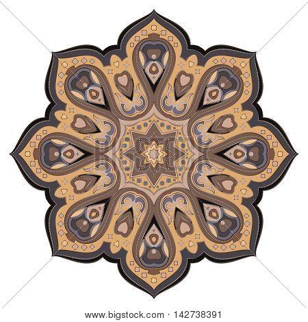Ornate, Eastern Mandala