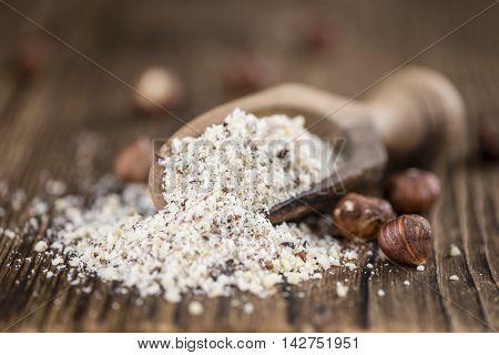 Grounded Hazelnuts