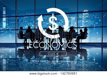 Economics Business Cycle Financial Concept