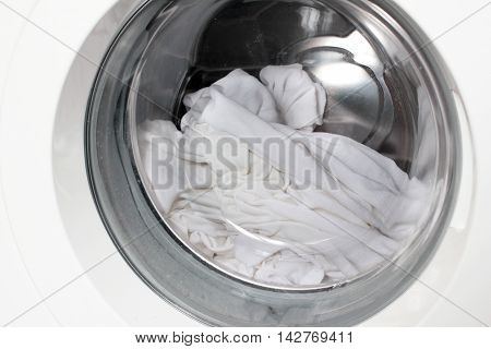 clean items in the drum washing machine