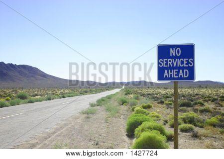 No Services Ahead