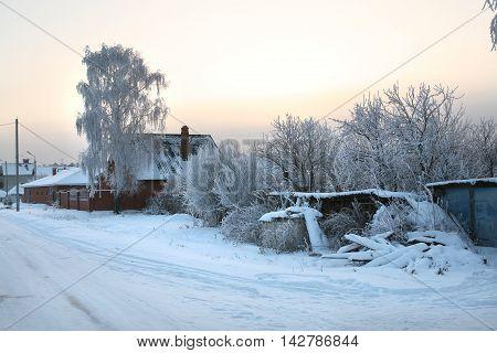 Street In The Village