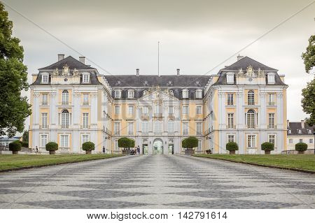 Augustusburg Palace In Bruhl, Germany