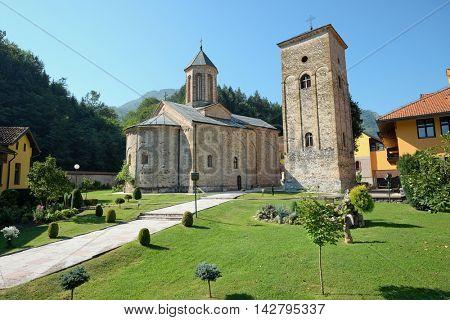 Raca Monastery is a Serbian Orthodox monastery near Bajina Basta, village in the Budva municipality, Serbia