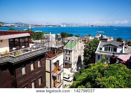 Istanbul Marmara Sea View From Hotel