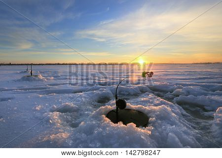 Fishing Rod About Wells