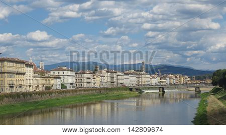 Waterfron Houses In Florence
