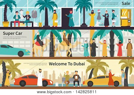 Sale Super Car Welcome To Dubai flat office interior outdoor concept web. Career Chart Fun