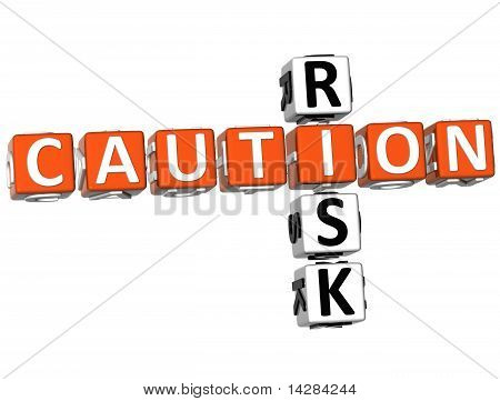 Caution Risk Crossword