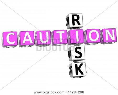 Caution Risk Crossword
