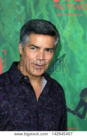 LOS ANGELES - AUG 14:  Esai Morales at the