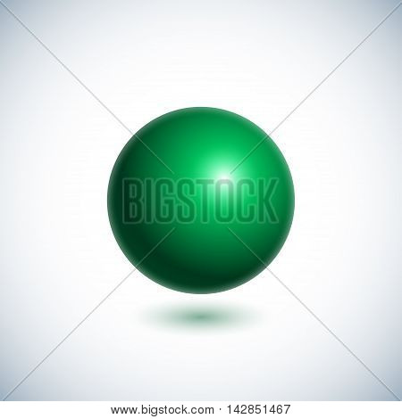 Green Ball Sphere-01