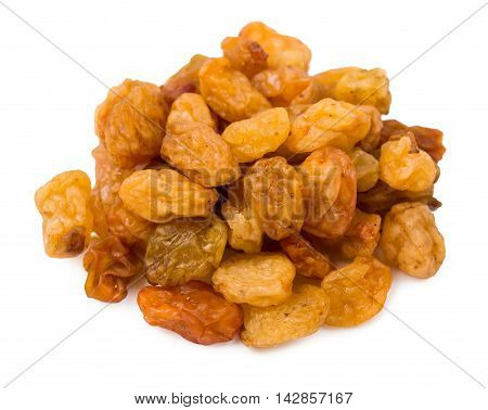 Raisin gold isolated d d d d