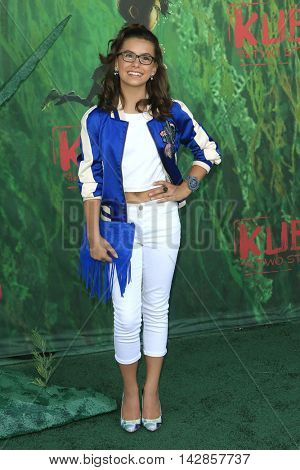 LOS ANGELES - AUG 14: Madisyn Shipman at the premiere of Focus Features' 'Kubo and the Two Strings' at AMC Universal City Walk on August 14, 2016 in Los Angeles, California
