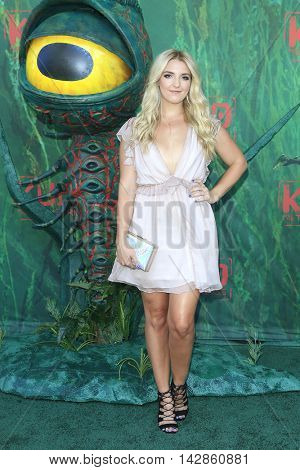 LOS ANGELES - AUG 14: Rydel Lynch at the premiere of Focus Features' 'Kubo and the Two Strings' at AMC Universal City Walk on August 14, 2016 in Los Angeles, California
