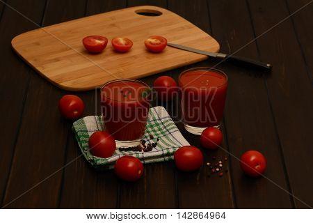 Tomato Juice, Tomatoes
