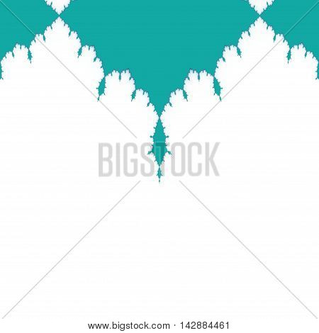 Ornate upper background decoration can be used as background