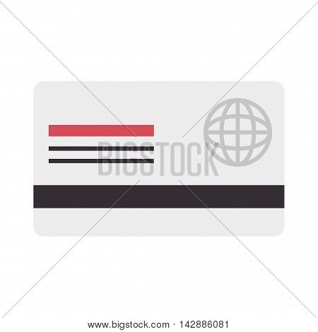 card  credit debit money pay  transaction plastic  money vector  isolated and flat illustration