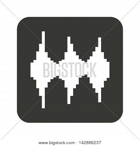 equalizer waves isolated icon vector illustration design
