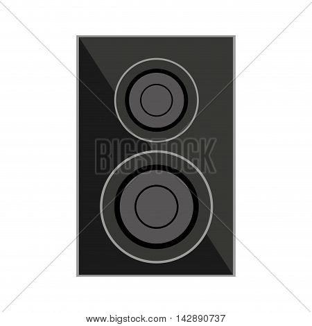 speaker home theater isolated icon vector illustration design