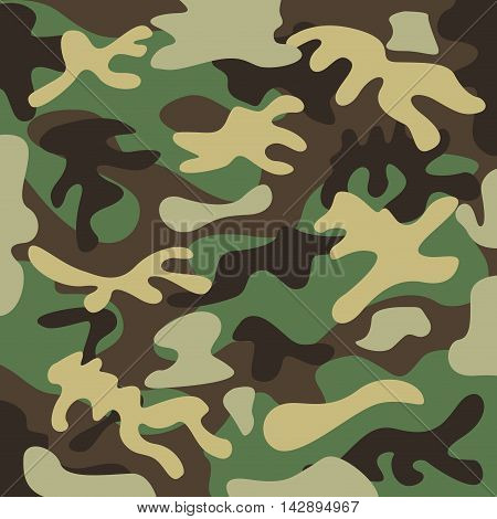 camouflage backgrund pattern icon vector illustration design