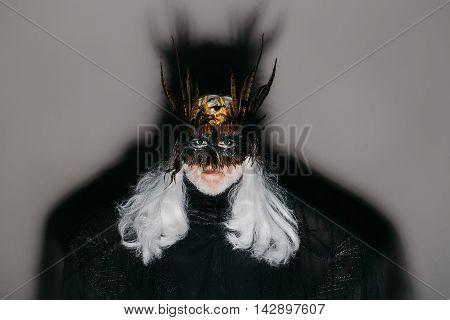 Evil Wizard In Mask